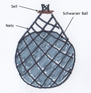 Bremsenfalle selber bauen - Der Lockball